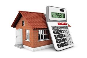 Brick Home and Calculator