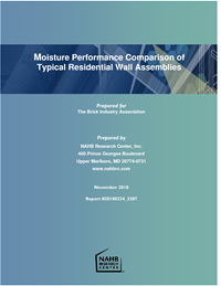 Moisture Performance Comparison Brochure Cover